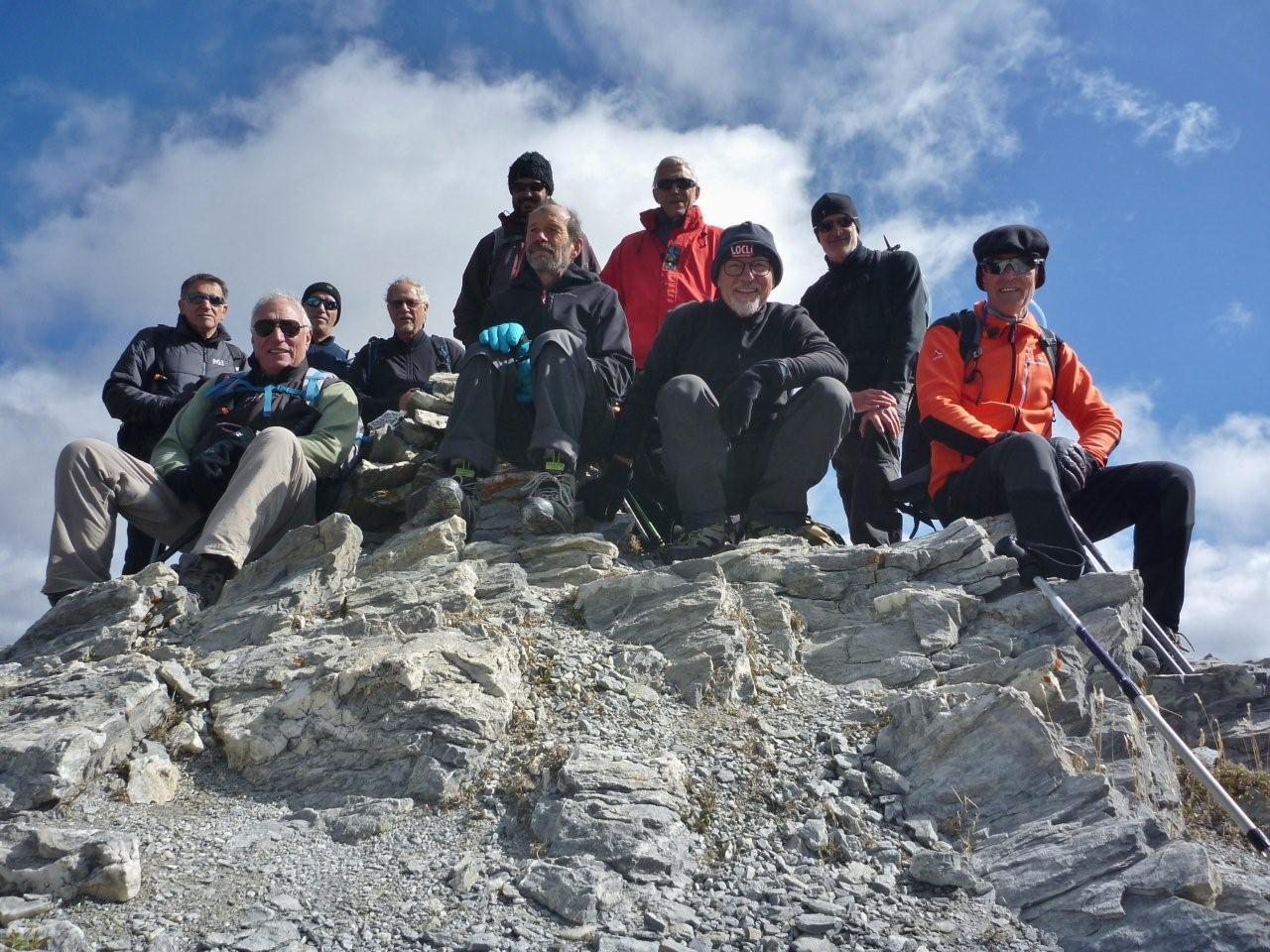 Pic des Esparges fines (2706 m)