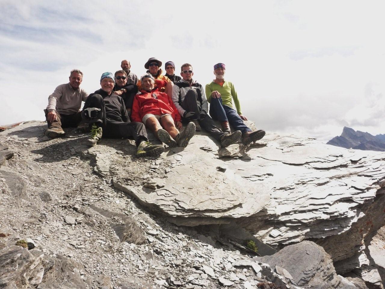 Pointe des Marcelettes (2900 m)