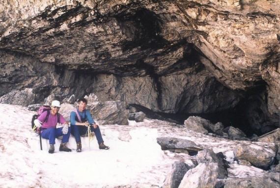 Bivouac Grotte casteret