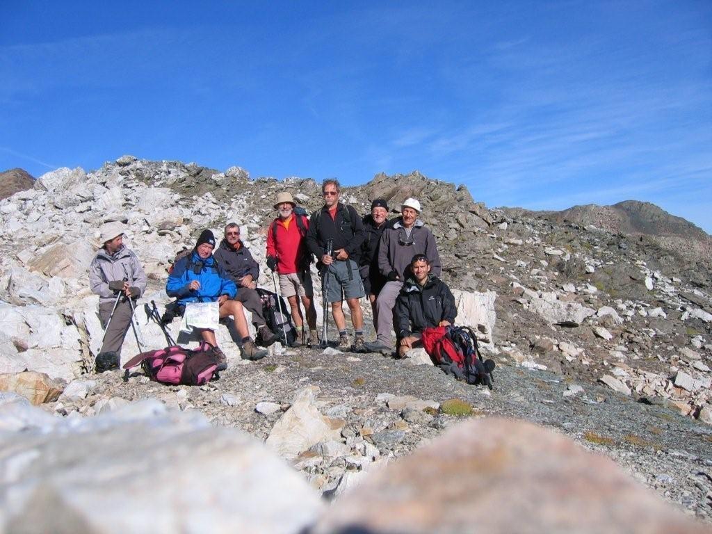 Passage du pic du Thabor (2952 m)