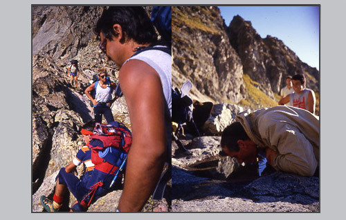 """""""Faux-Col"""" de Nasta, Altiplano del Baus"""
