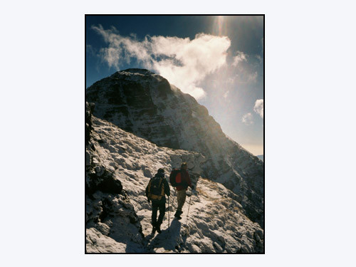 Mt Bégo Nov. 2001, JPR, RM, MR