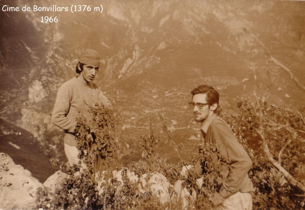 cime de Bonvillars juin 1966 JP.S. H.F