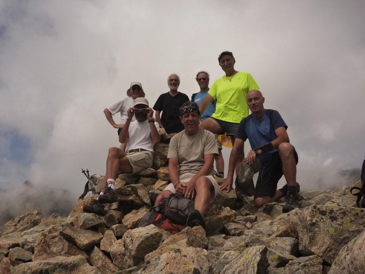Au sommet: 2828 m
