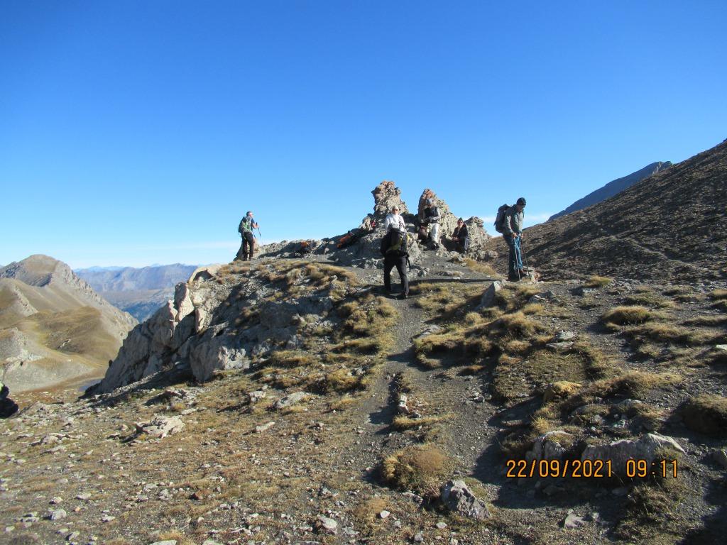Le Col de l'Eychassier (2965 m)