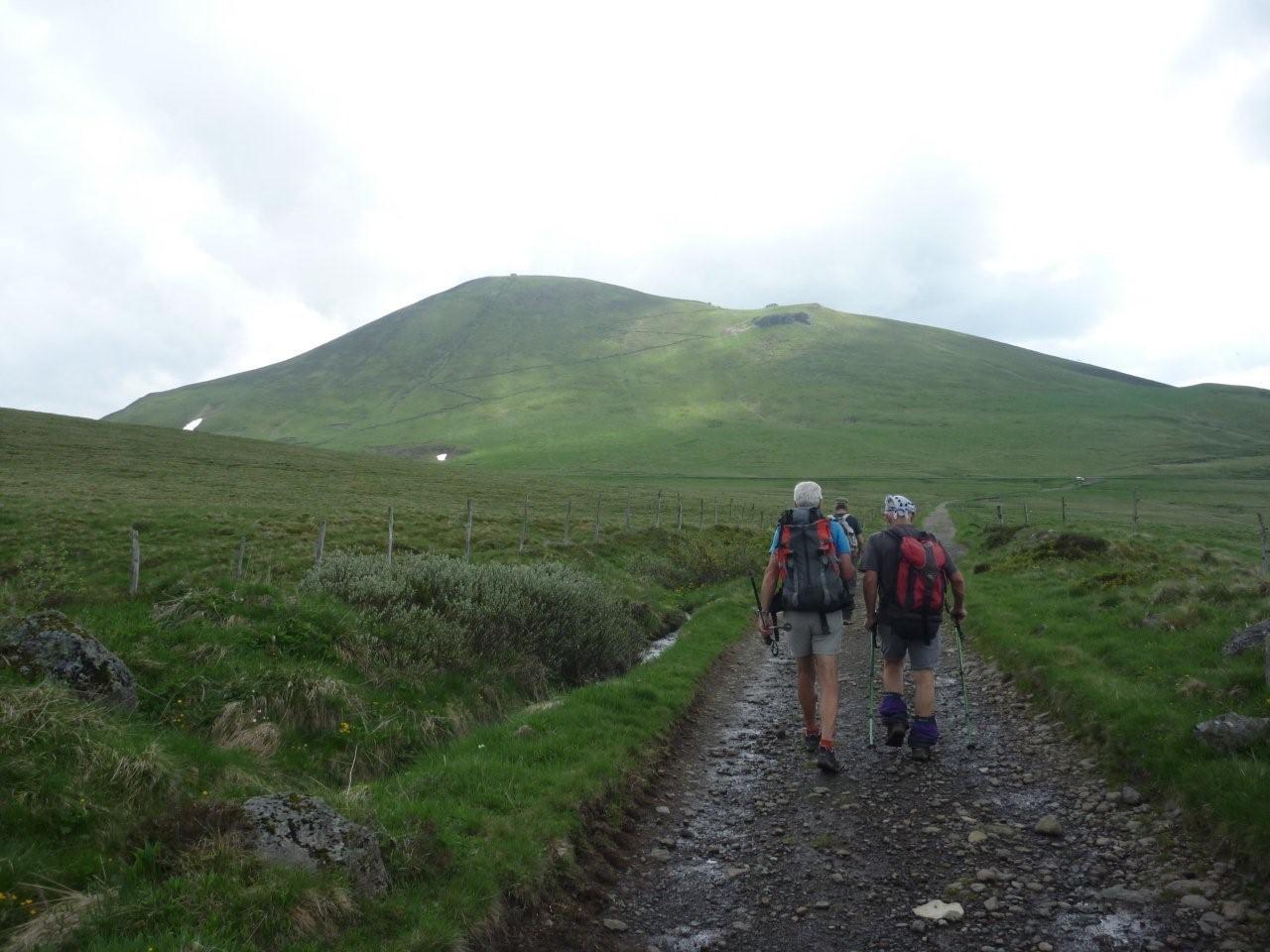 vers le Col de la Croix Morand