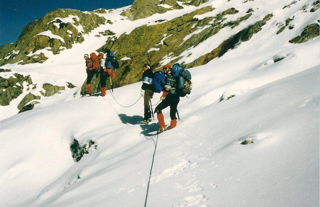 Vers le Col Chiapous