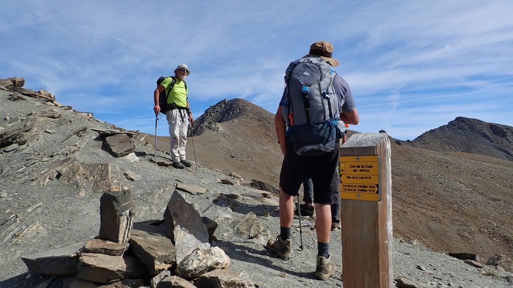 Col de la Cula (3070 m)