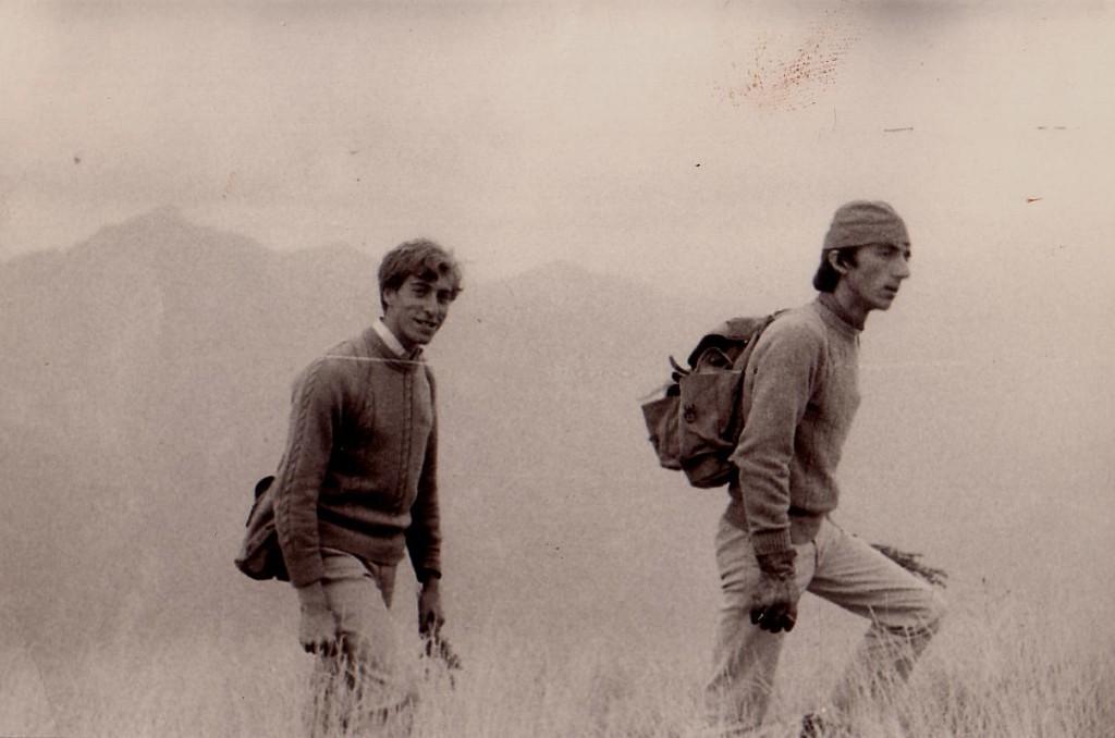 cime de Bonvillars juin 1966  A.V. JP.S