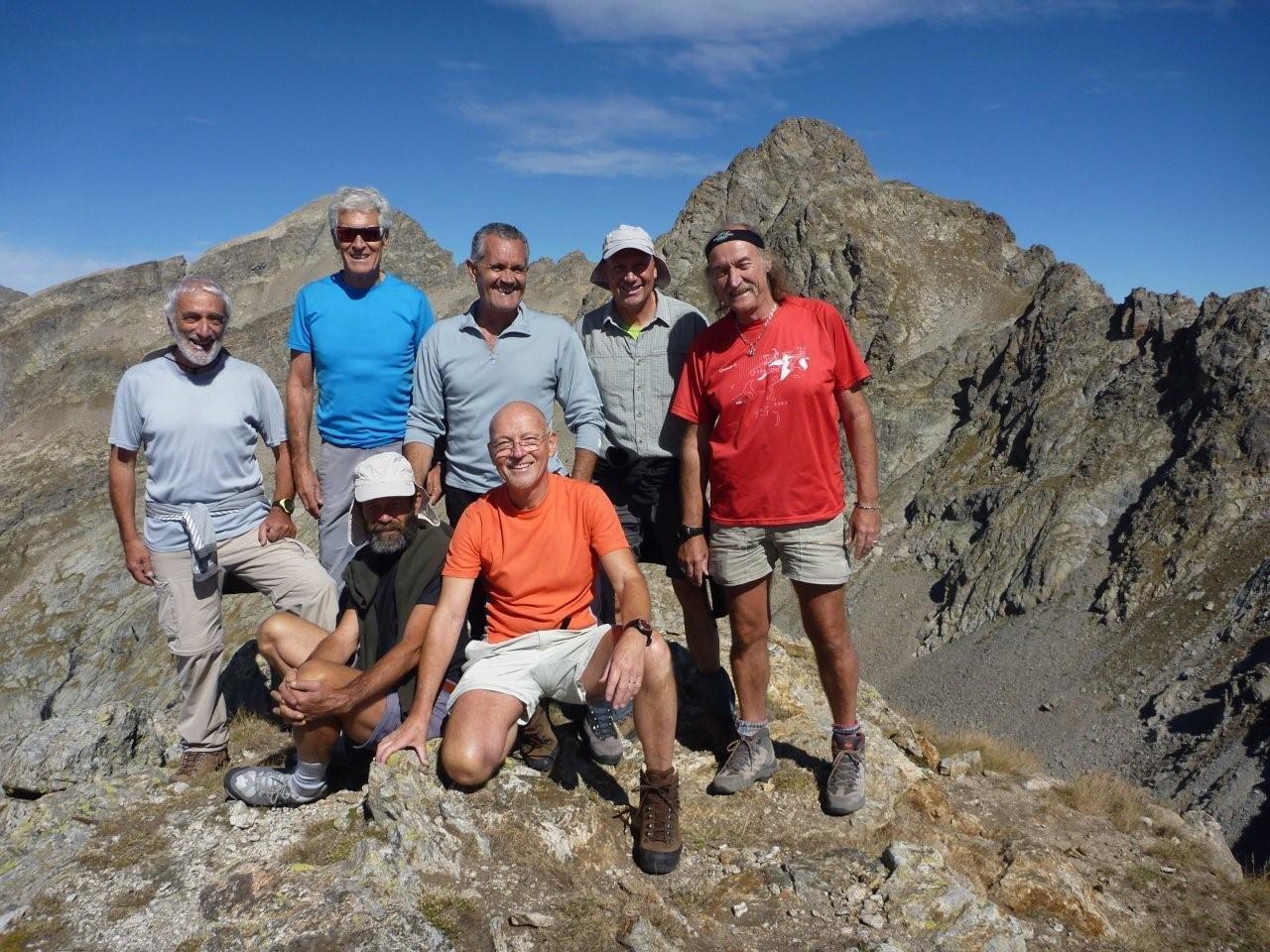 Cime S. de Montolivo (2760 m) en arrière plan: Chamineyes