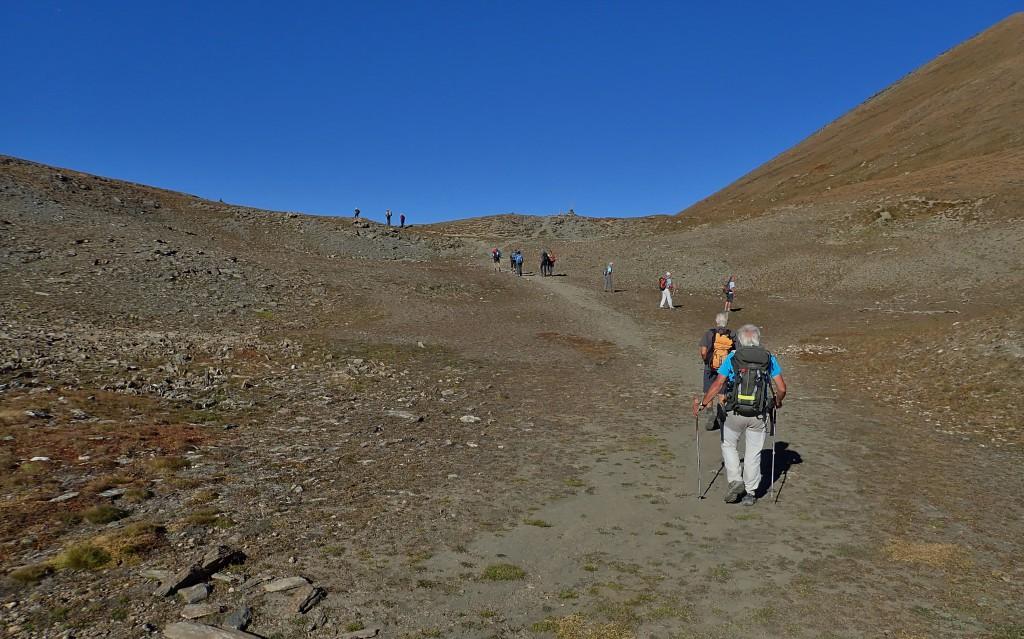 Col de Chamoussières (2884 m)