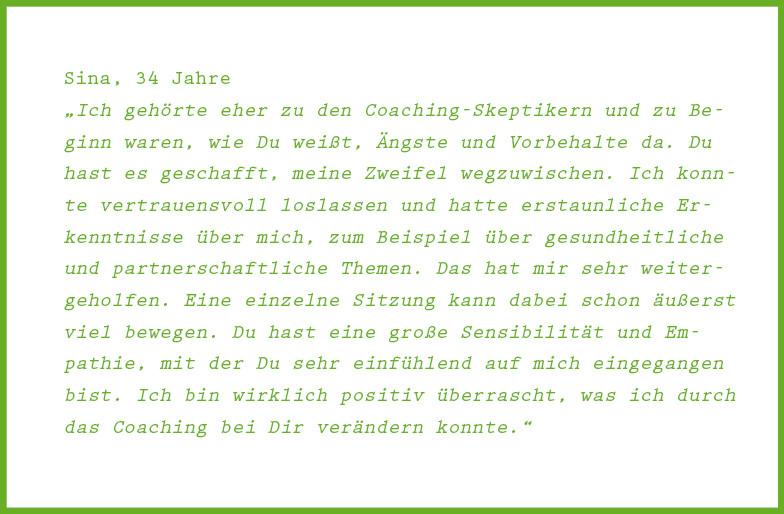 Einzelcoaching im Coachingraum, Braunschweig