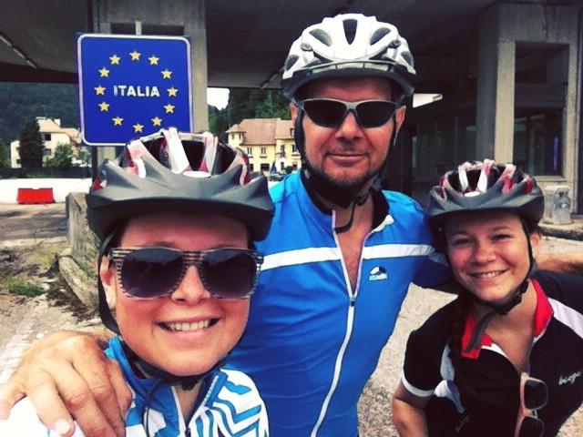 Radtraining nach Tarvisio/ ITA