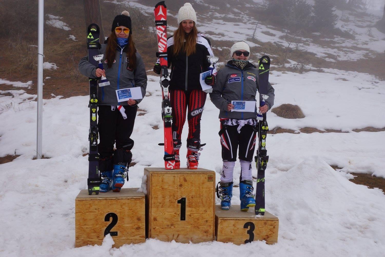 3. Platz im Slalom