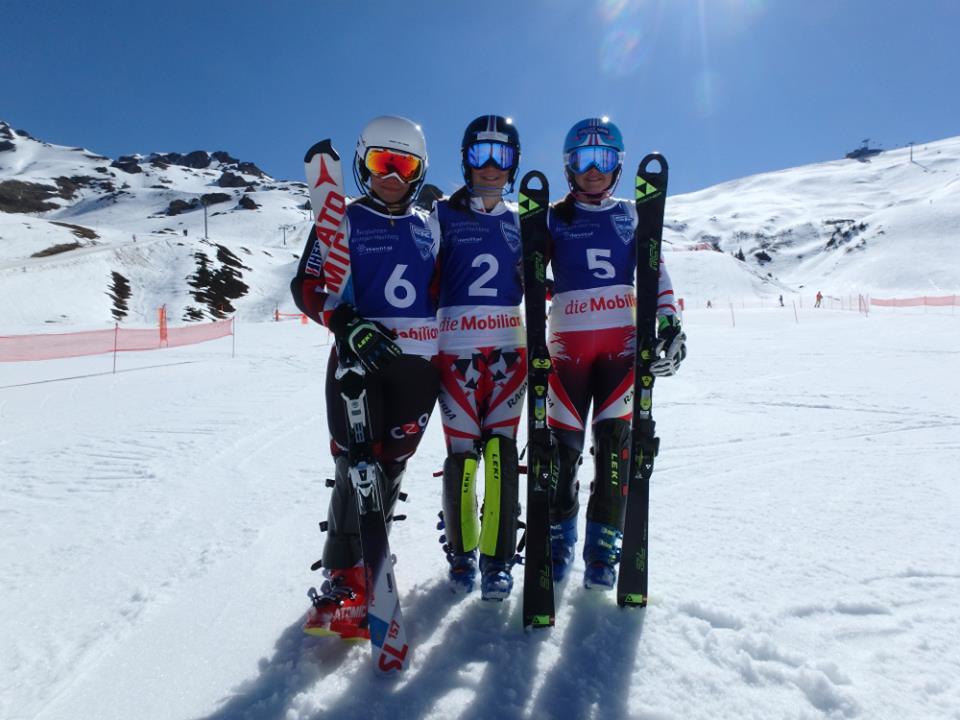 3. Platz beim Slalom