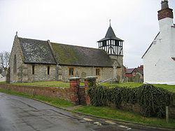 North side of Defford Church