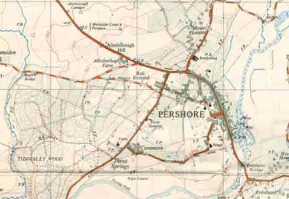 This is Pershore in 1949.