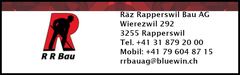 Sponsor: Räz Rapperswil Bau AG