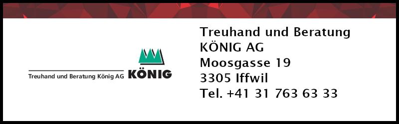 Sponsor: Treuhand und Beratung König AG Iffwil