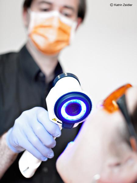Mundkrebsfrüherkennung