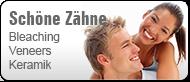 Schöne Zähne mit Bleaching, Veneers, Vollkeramik (© Yuri Arcurs - Fotolia.com)