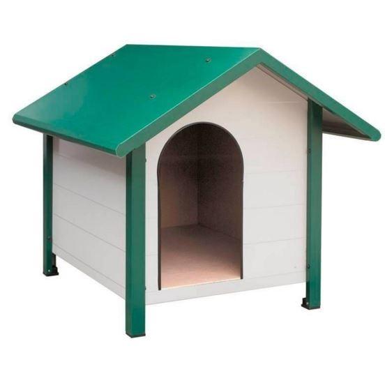 Caseta para perros aislada gp for Caseta chapa galvanizada