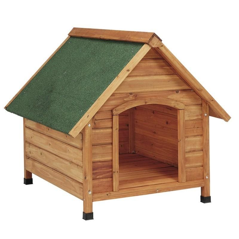Casetas para perros madera gp for Caseta madera exterior