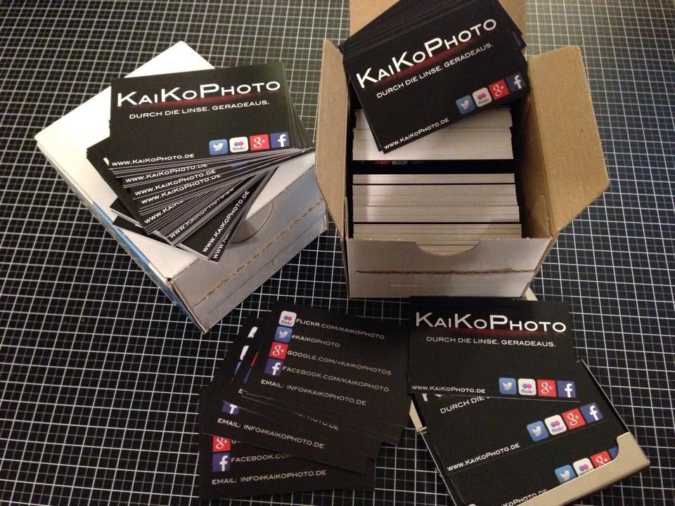Meine Neuen Visitenkarten Kaikophoto