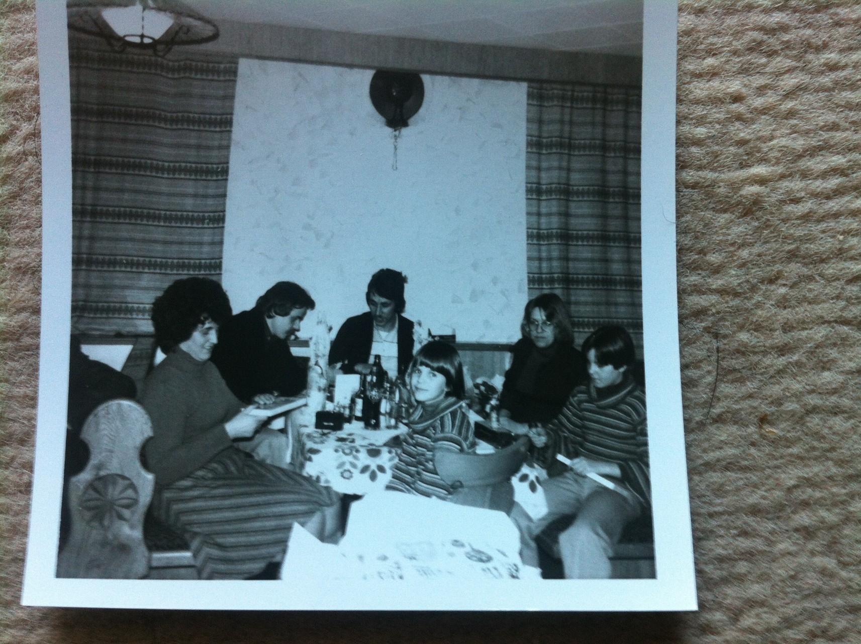 Gaststube Weihnachten ca1973