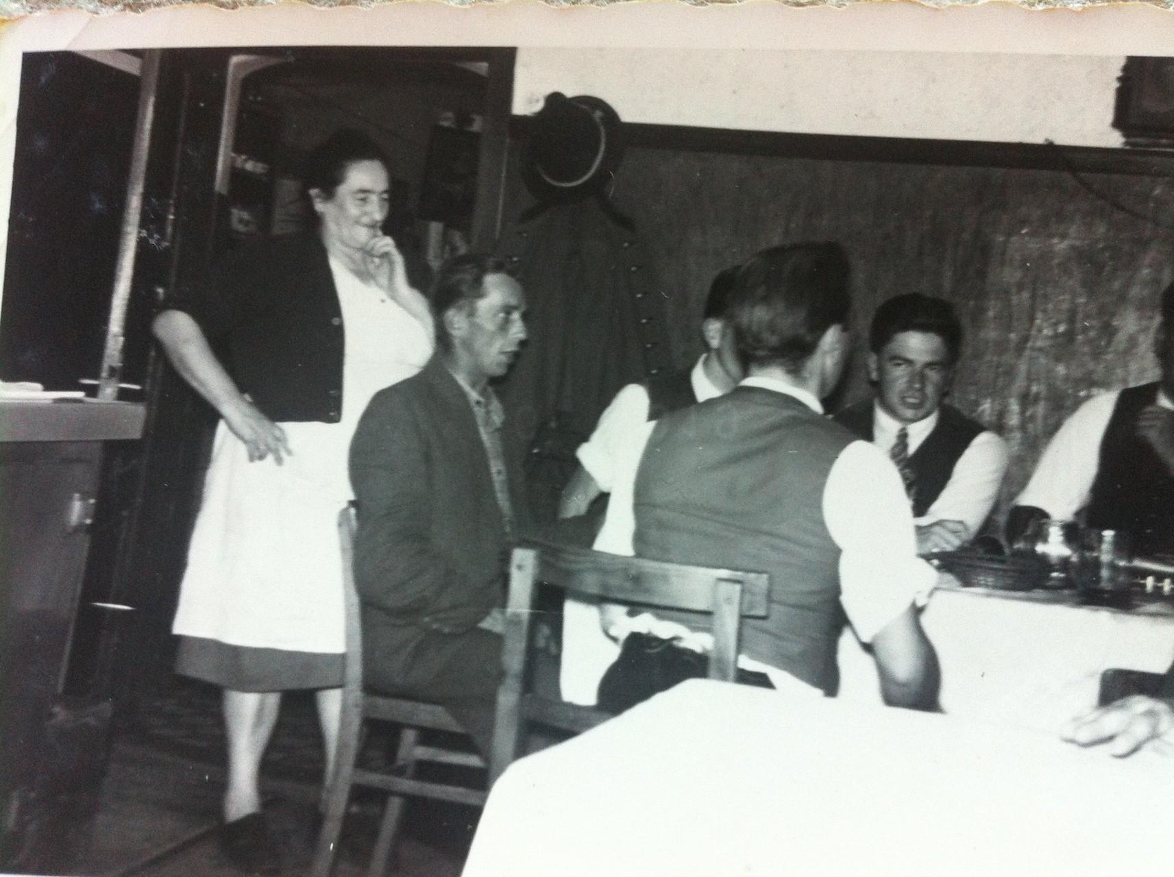 Sen. Wirtin Maria um 1956