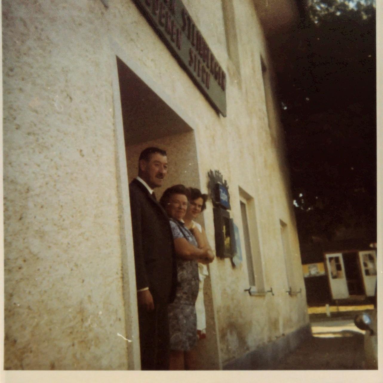 Fritz Sen. ; Frau Gutmann ; Pauline