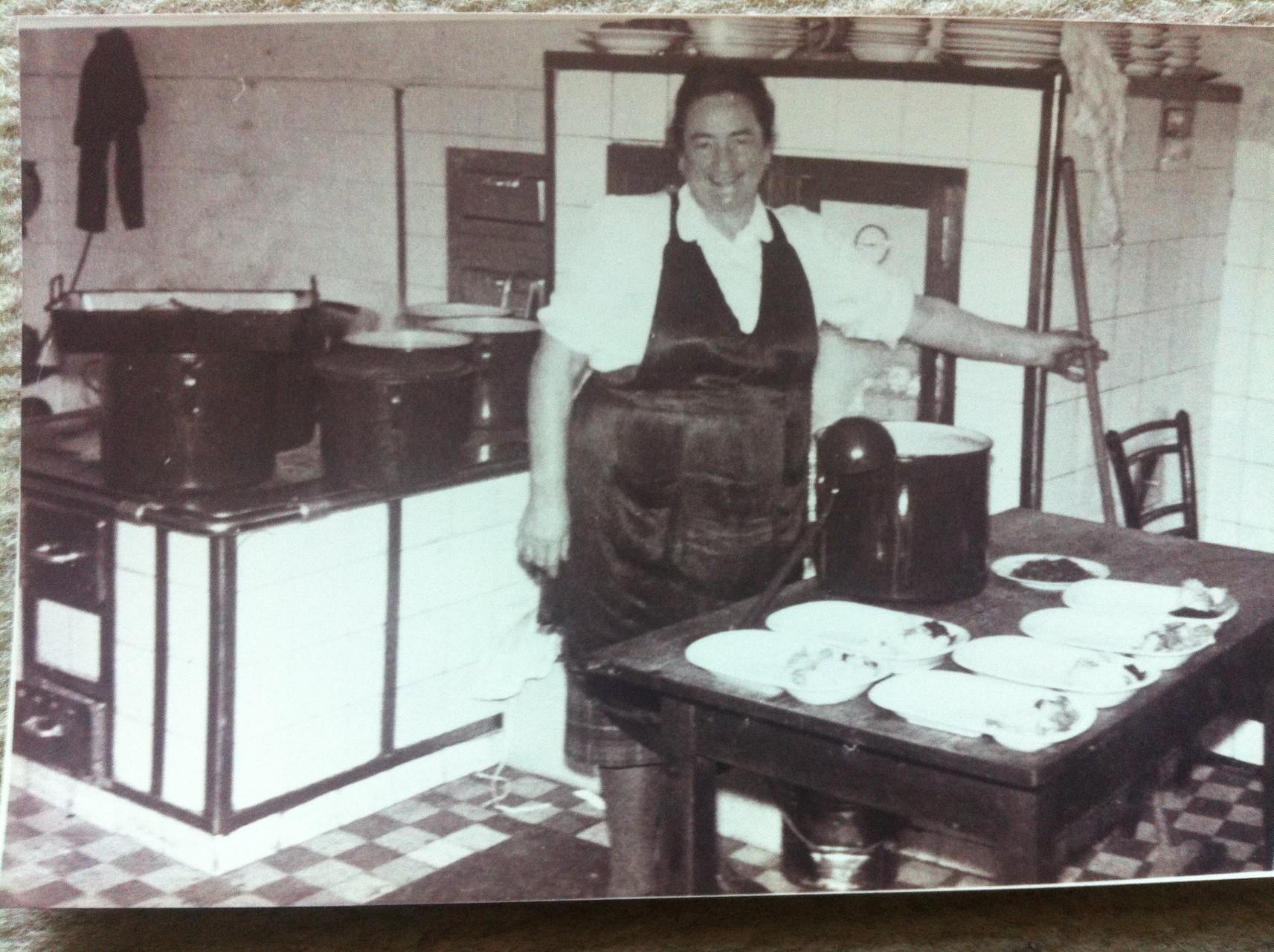 Sen. Wirtin Maria ca 1950