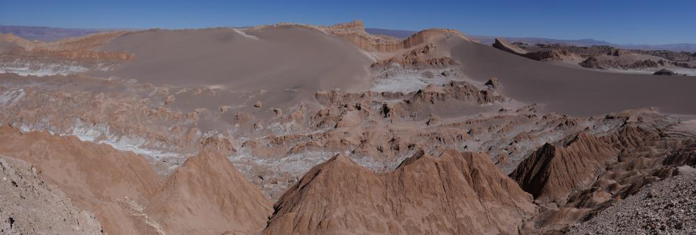 In Chile angekommen: Valle de la luna