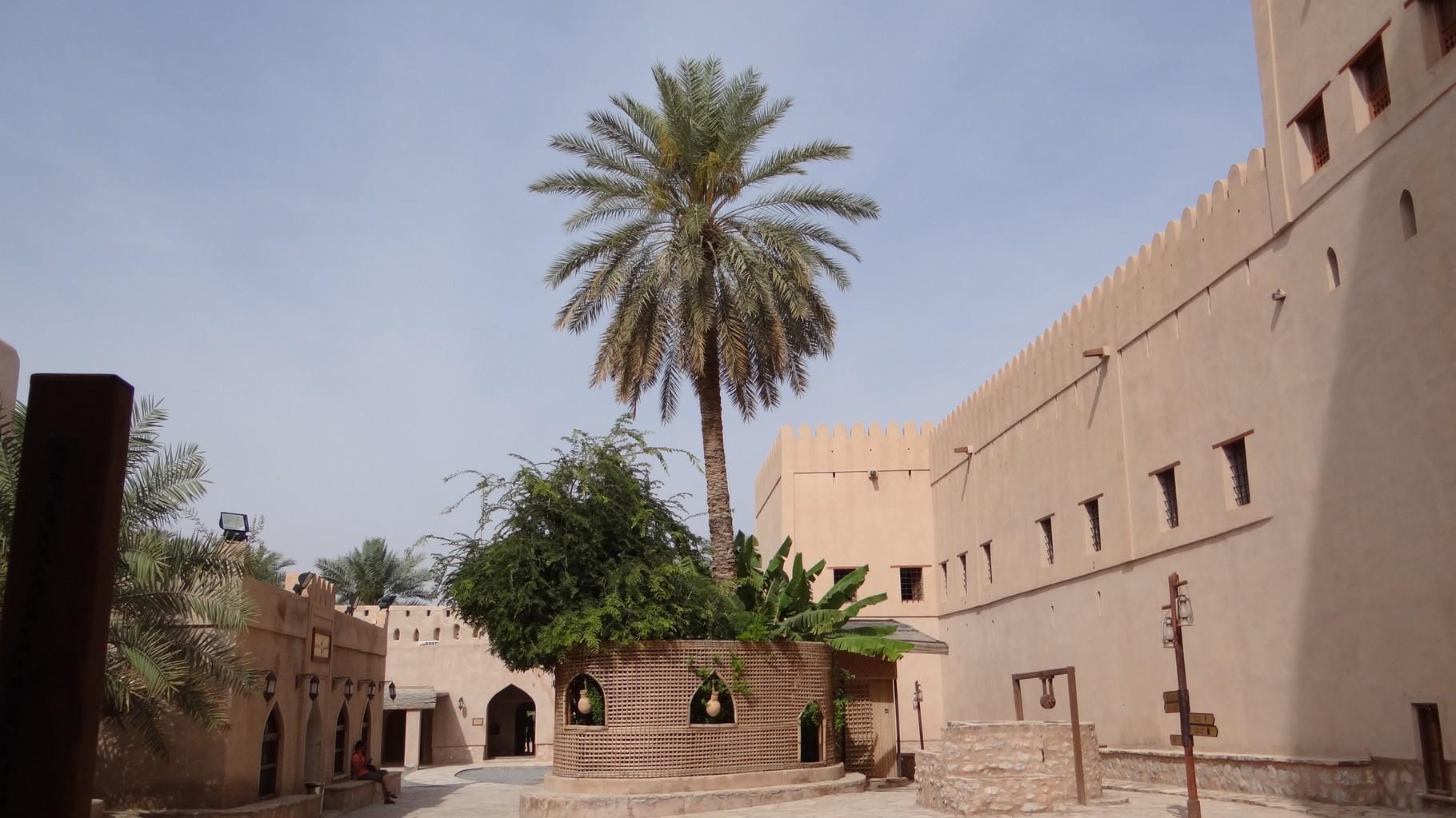 Im schönen Fort von Nizwa