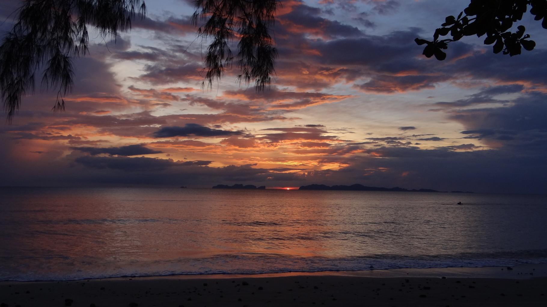 Sonnenuntergang eins
