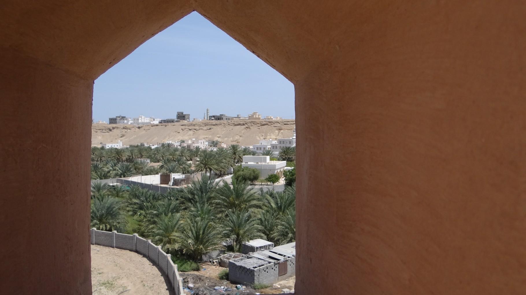 Ausblick vom Fort