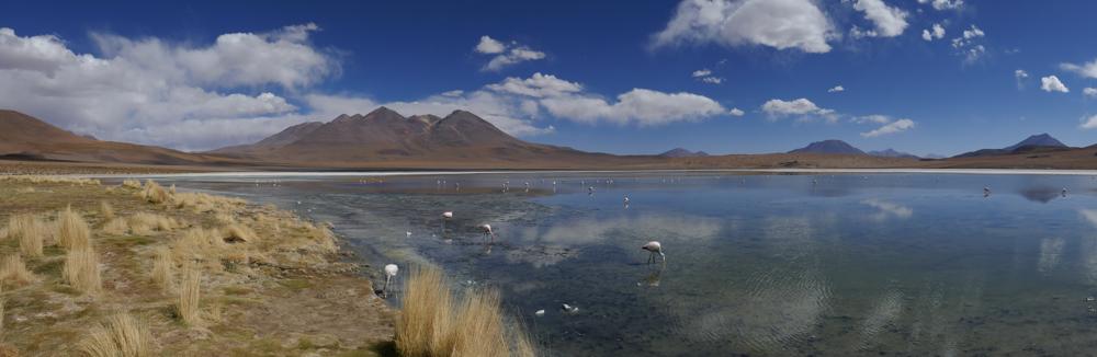 Die erste wunderschöne Lagune
