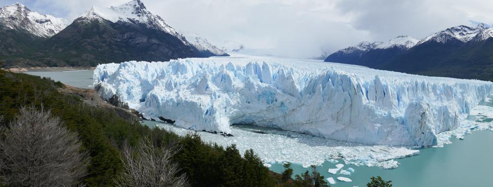 Der eindrückliche Gletscher Perito Moreno, Argentinien