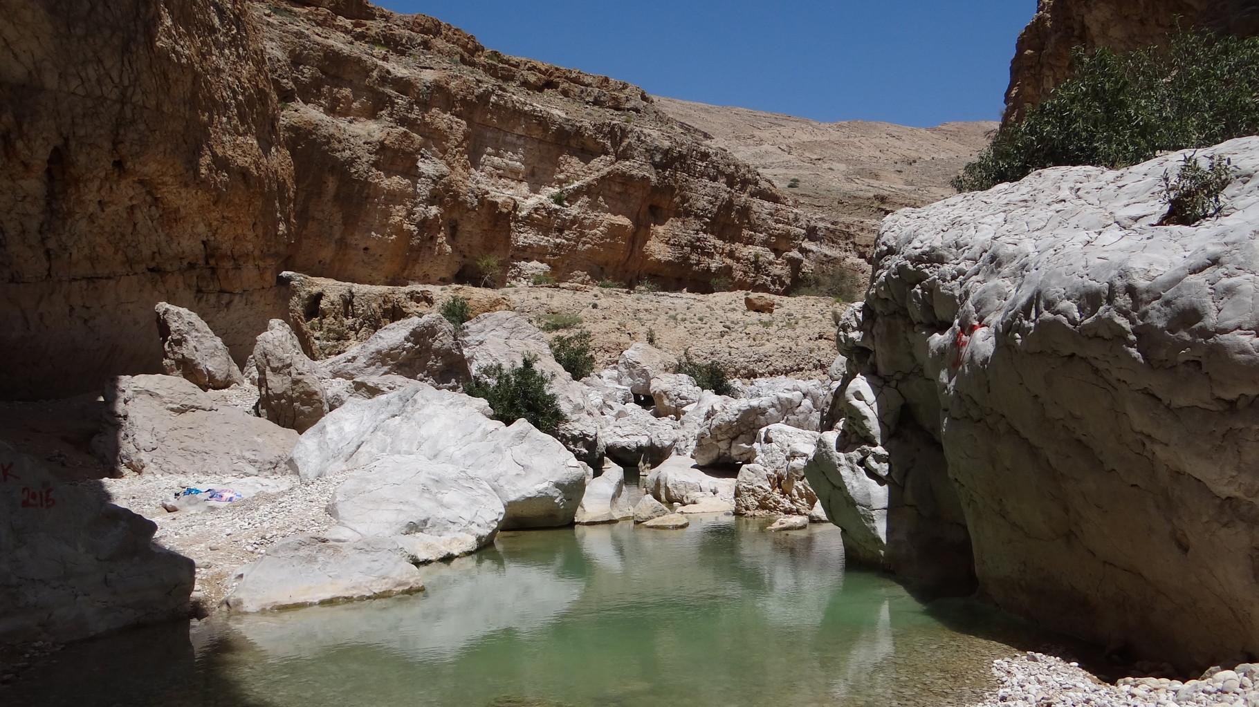 Im bekannten Wadi Bani Khalid