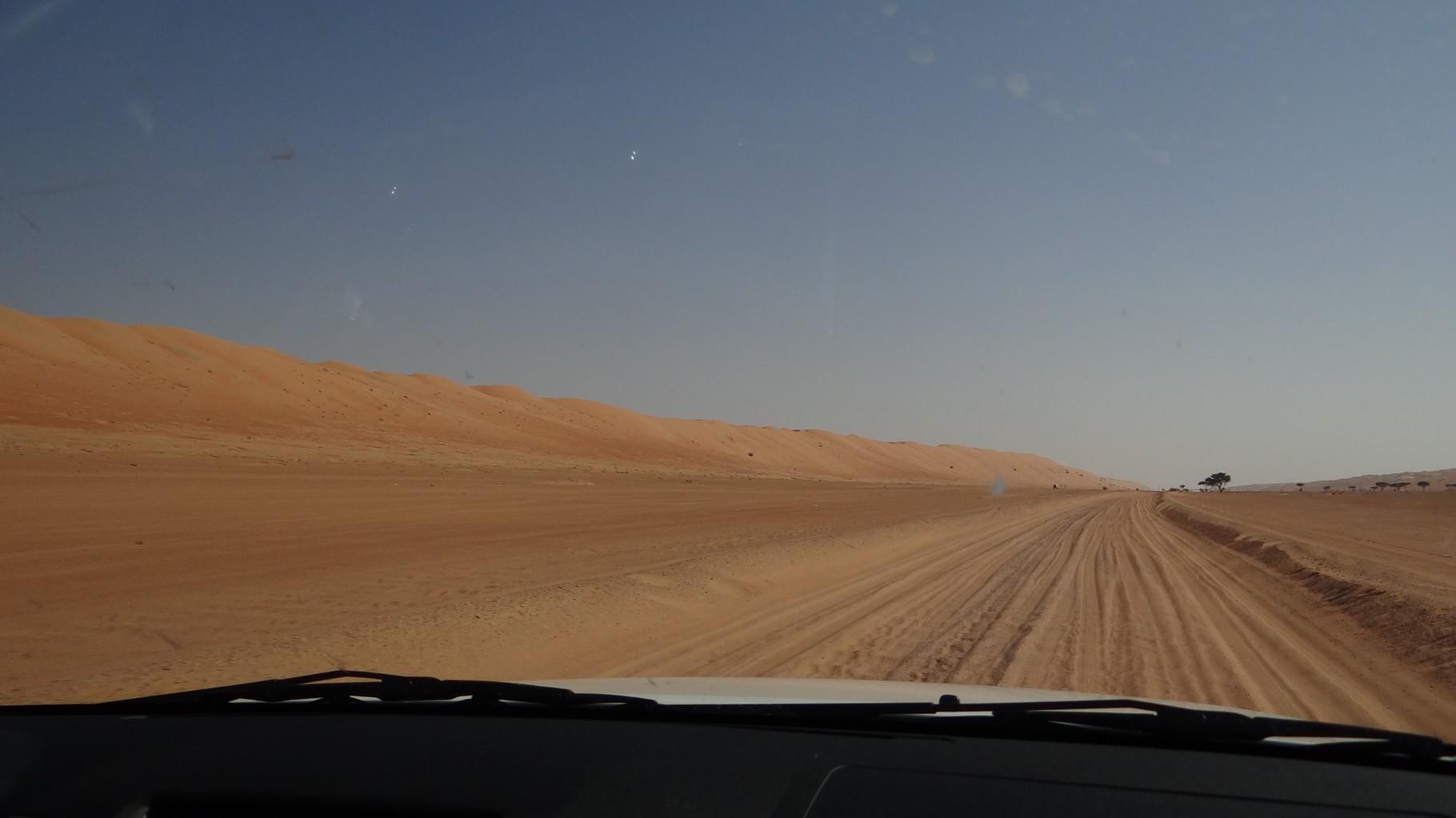 Unterwegs zum Wüstencamp