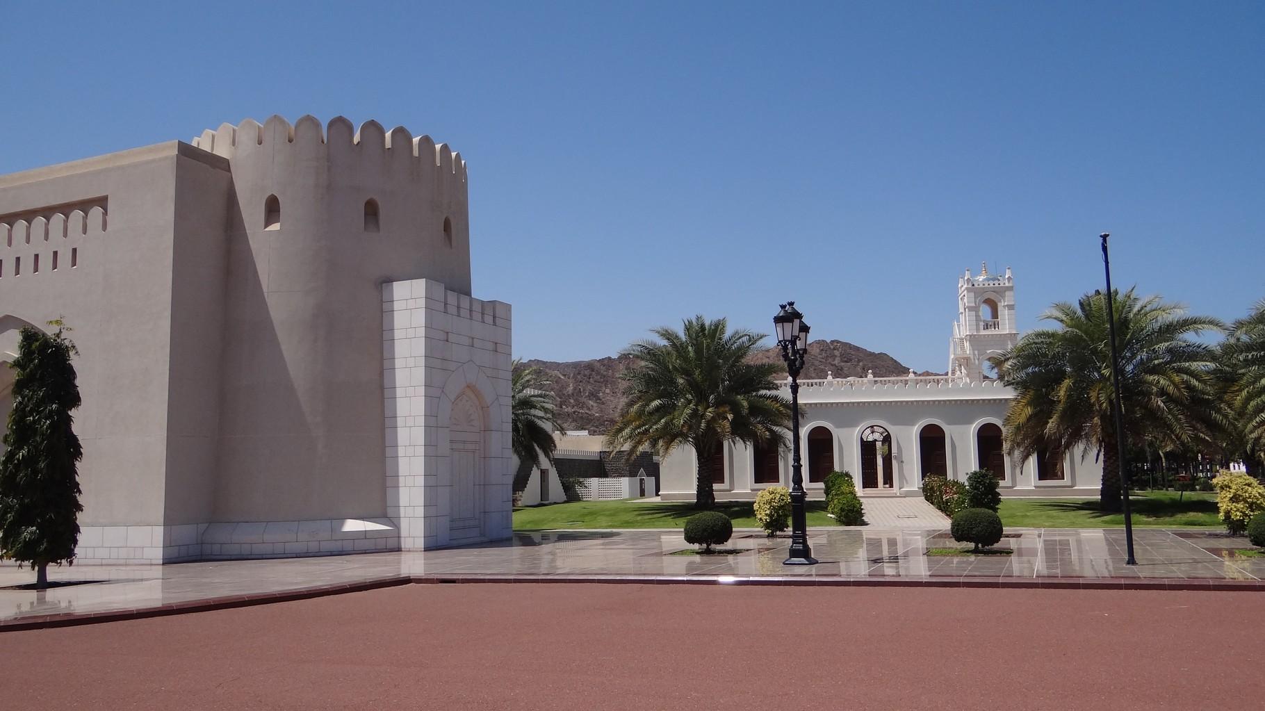 In der Altstadt von Muscat