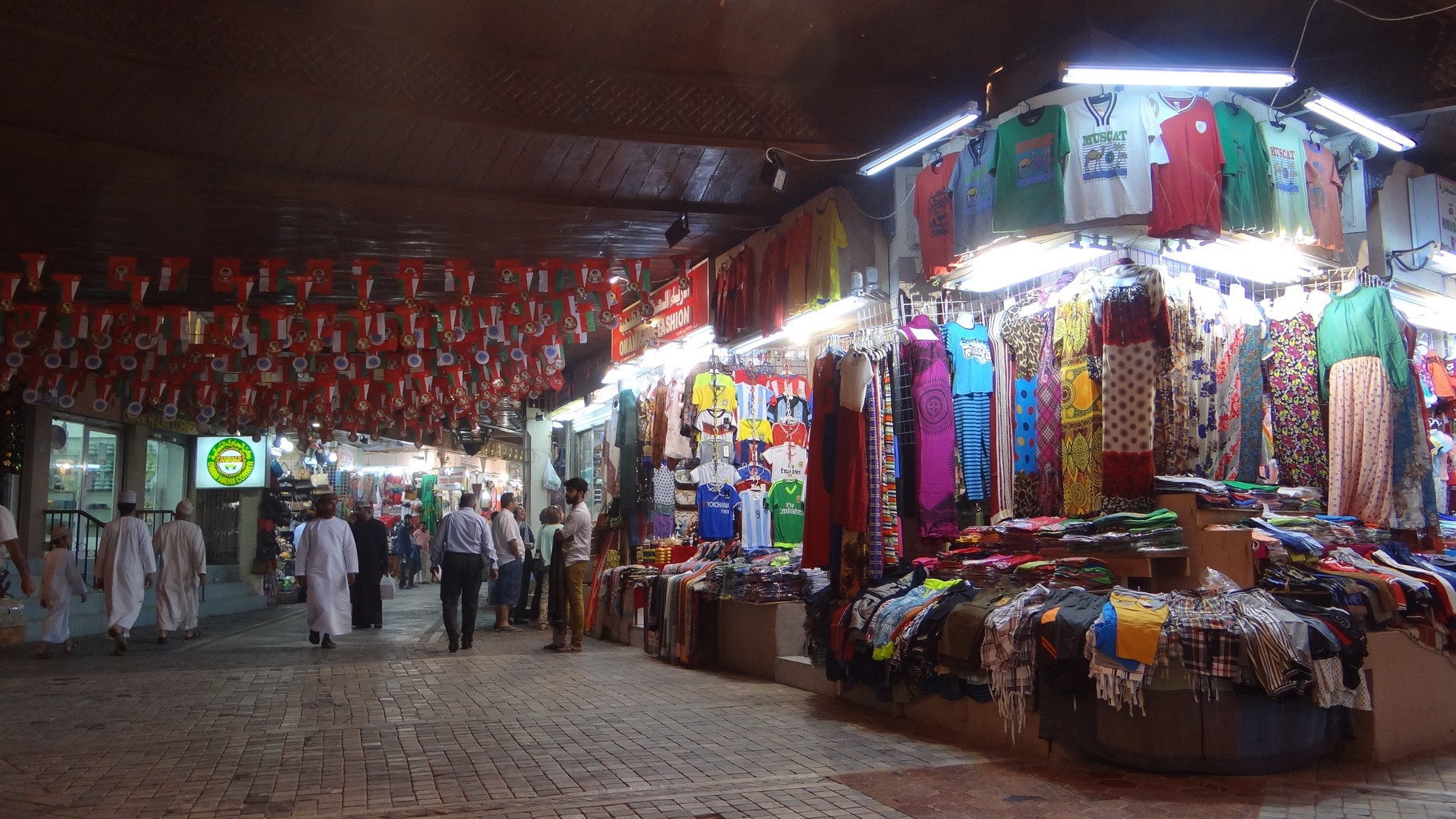 Am Souq (Markt) von Mutrah