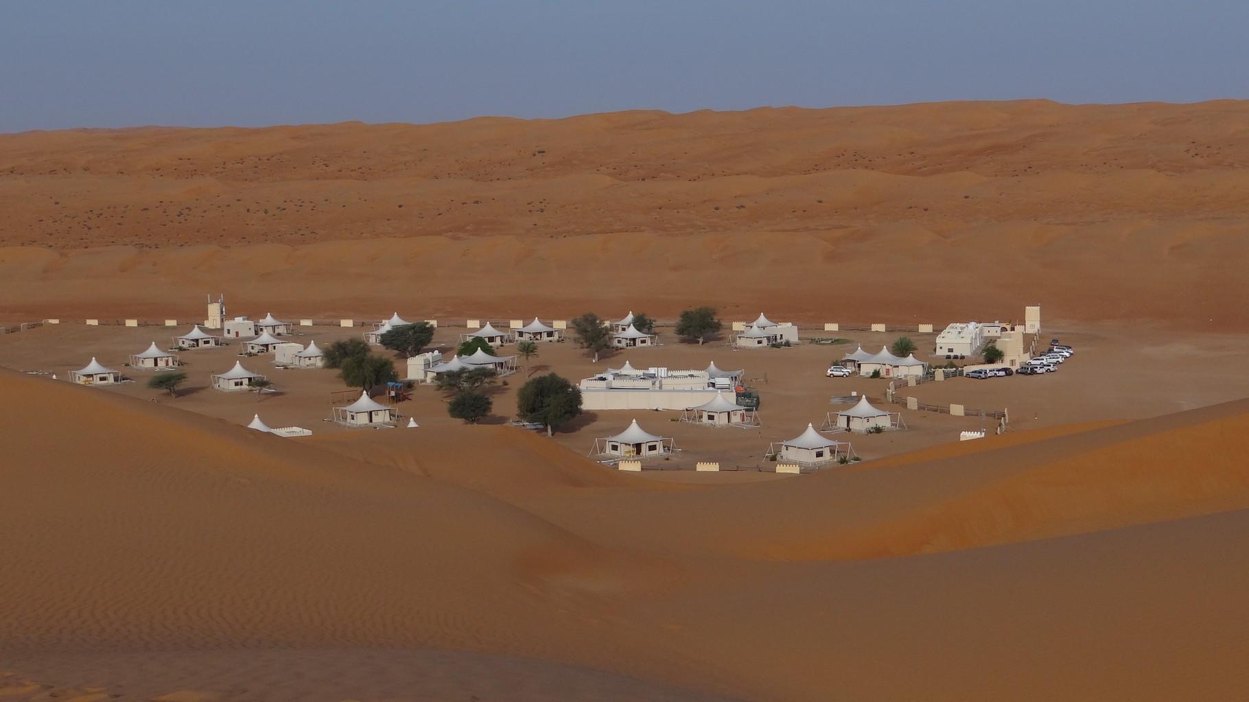 Unser Wüstencamp für eine Nacht