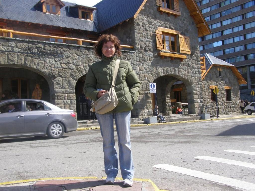 San Carlos de Bariloche: Cristina. Pronti a partire - Listos para partir - Ready to go!