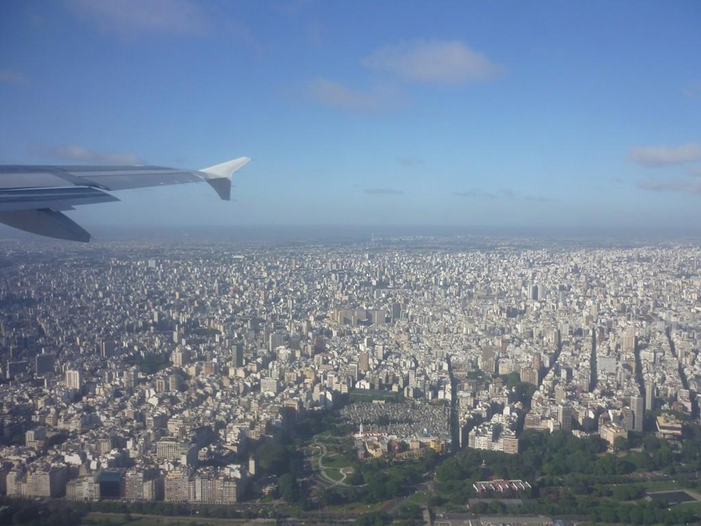 Partenza da Buenos Aires - Salida desde Buenos Aires - Departure from Buenos Aiires -