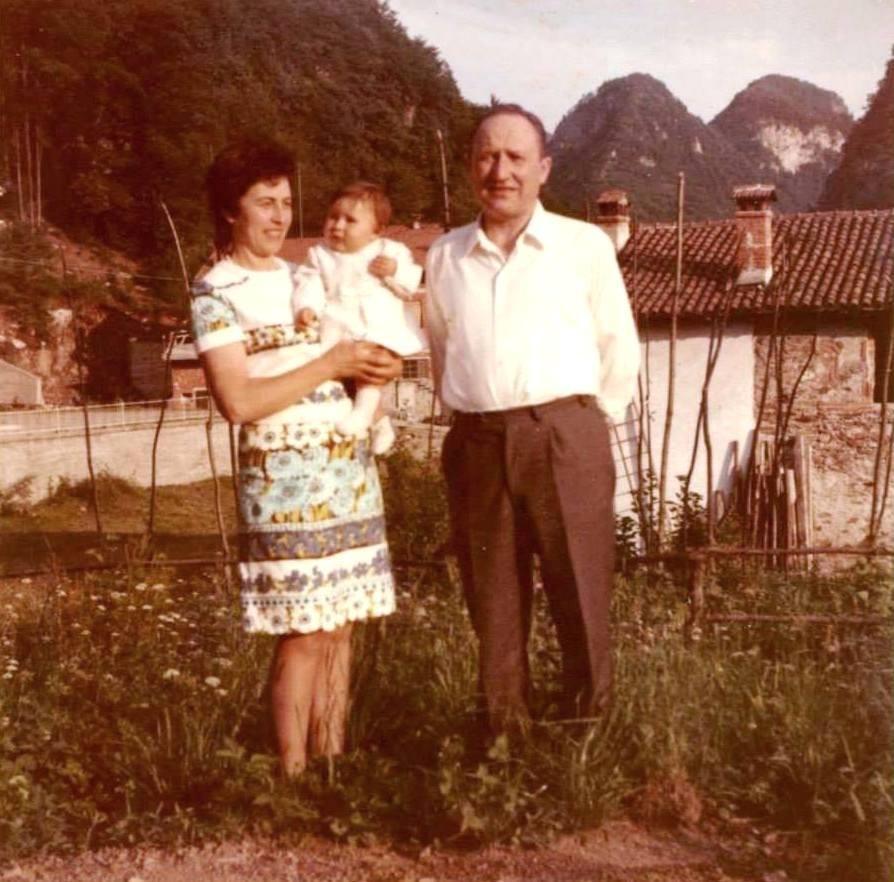 1971 - Mia mamma, mio papà e mia figlia Barbara