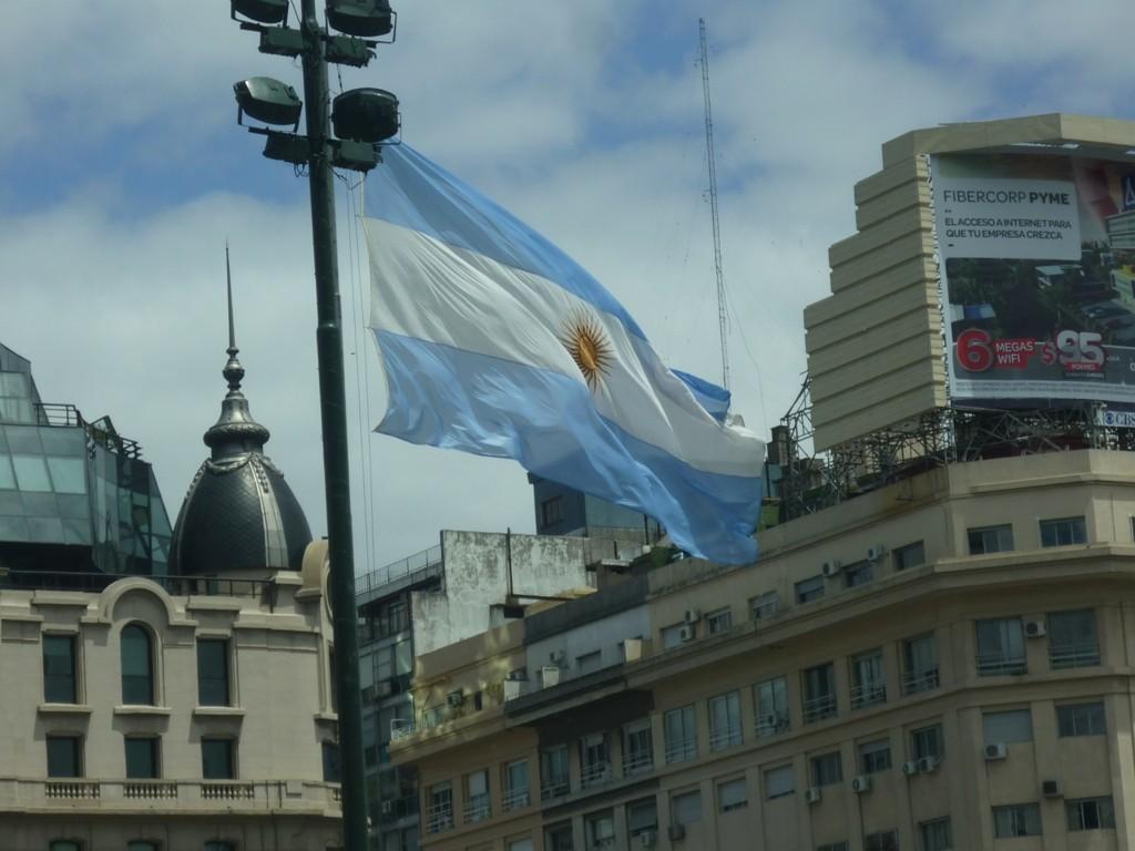 12.12.2011 - Bandiera argentina - Bandera Argentina - Argentina Flag.
