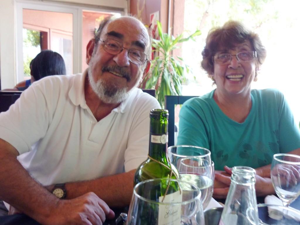 Mi amigo ROBERTO TRIGUEZ y su esposa ROSA