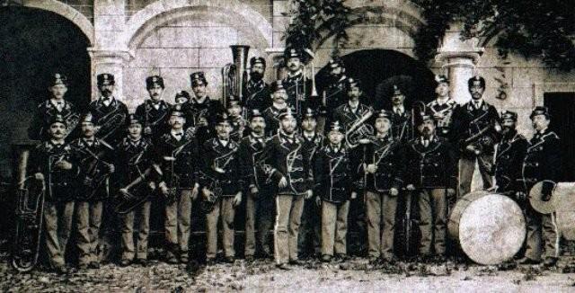 La banda musicale 1880