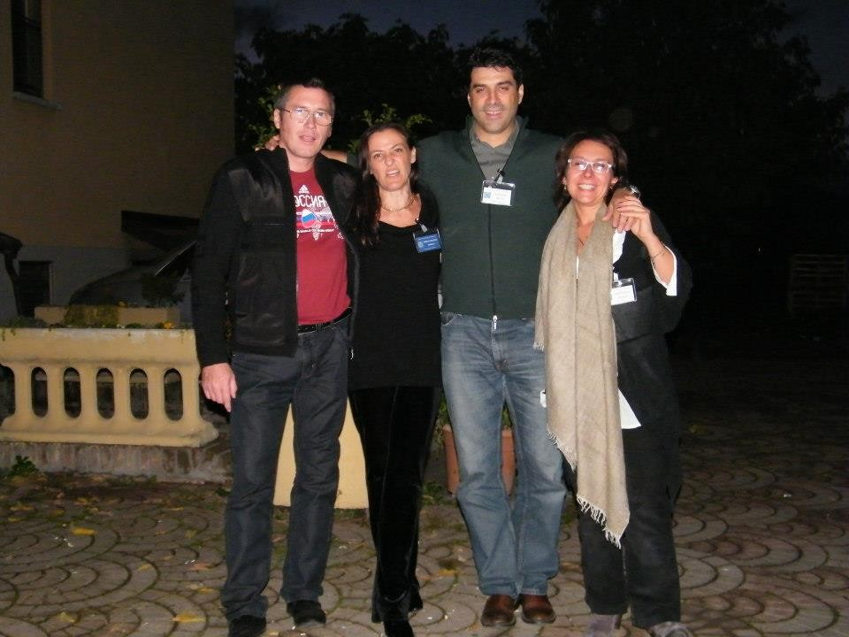 Mark, Isabella, Matteo e Barbara
